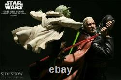 SIDESHOW Star Wars DUEL WITH DOOKU vs YODA19 Scale Statue Diorama #77/1500