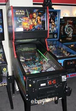 STAR WARS EPISODE I Pinball Machine Williams 1999 Pinball 2000