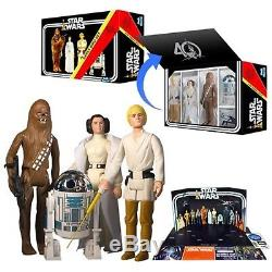 STAR WARS Early Bird 4 Pack Jumbo Collectible Action Figure Star Wars 40th