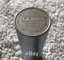 STAR WARS LIGHTSABER REPLICA GRAFLEX 3 CELL CAMERA FLASH With LETTERING ON CLAMP