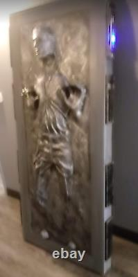 STAR WARS Life Size Han Solo in Carbonite Prop Realistic Display Plus Lighting