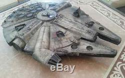 STAR WARS Millennium Falcon Legacy look Prop How cool real looking large Falcon