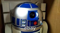 STAR WARS R2-D2 1/1 size DVD player Lottery winner's fedex shipping
