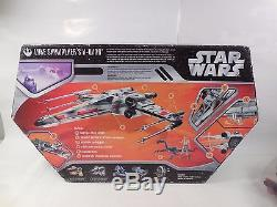 STAR WARS SAGA COLLECTION LUKE SKYWALKER'S X-WING FIGURE SET WithBOX HASBRO 2006