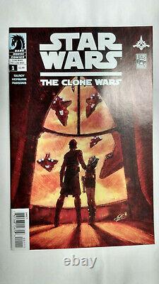 STAR WARS THE CLONE WARS #1 1st Printing AHSOKA TANO / 2008 Dark Horse