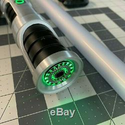 Saberforge Lightsaber Green Light + Sound, Covertech clip and charger included