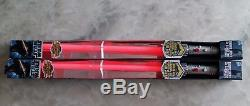 Set of 2pcs Hasbro Star Wars ultimate darth maul force Lightsaber RARE