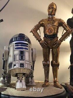 Sideshow 3po R2d2 Star Wars Premium Format