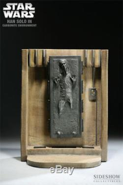 Sideshow Star Wars Han Solo In Carbonite Environment 1/6 Jabba The Hutt New Rare