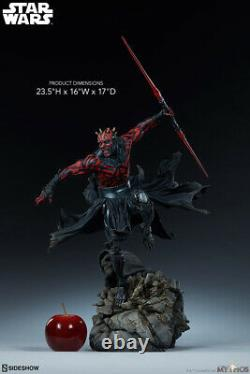 Sideshow Star Wars Sith Lord Darth Maul Mythos 1/4 Statue 300698 MISB In Stock