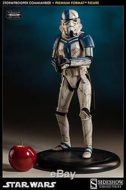 Sideshow Star Wars Stormtrooper Commander 1/4 Scale Premium Format Statue New