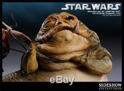 Sideshow Star Wars You're Going To Regret This Princess Leia Vs Jabba Diorama