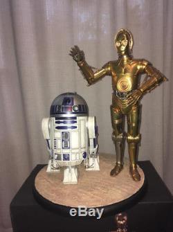 Sideshow star wars R2D2 & C3PO