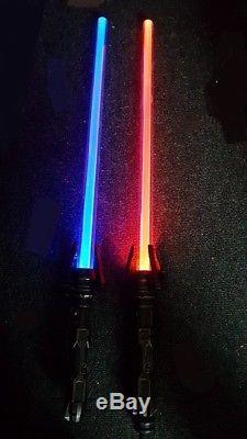 Space Wars Electronic LightSaber Light + Sound FX Light Saber Become a STAR