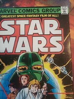 Star Wars #1 1977 First Print Marvel Comics Hot Key Bronze Grail 1st Printing VF