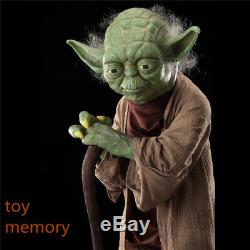 Star Wars 1/1 Yoda statue Figures 100% high quality Custom statues In stock