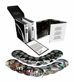 Star Wars 1-9 Die Skywalker Saga 9 Filme Collection Blu-ray Box Deutsch