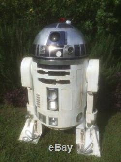 Star Wars A New Hope 2 Leg Life Size R2d2 High Quality Unpainted Fiberglass Kit
