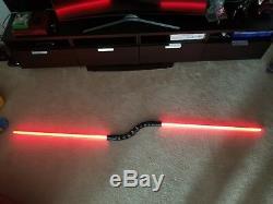 Star Wars Asajj Ventress Clone Wars Fx Double Lightsaber Replica Collectible