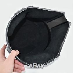 Star Wars Black Mandalorian Helmet Handmade Cosplay Mask