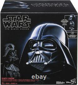 Star Wars Black Series Darth Vader Electronic Helmet Premium NEW FREE SHIPPING