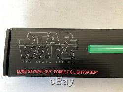 Star Wars Black Series Luke Skywalker Force FX Lightsaber Green Lightsaber #5