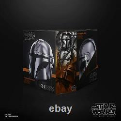 Star Wars Black Series The Mandalorian Premium Electronic Helmet 11 Replica