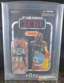 Star Wars Boba Fett Afa 90 Revenge Of The Jedi Vintage Collection Unpunched Rare