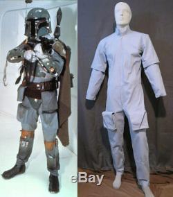 Star Wars Boba Fett ESB Jump Suit Mandalorian Costume Cosplay