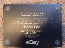 Star Wars Bobba Fett Gentle Giant