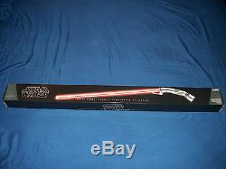 Star Wars COUNT DOOKU Force FX Lightsaber Darth Tyrannus Replica NEW