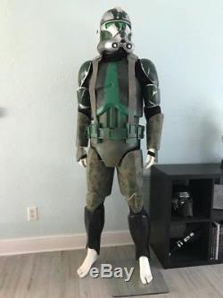 Star Wars Clone Trooper Armor