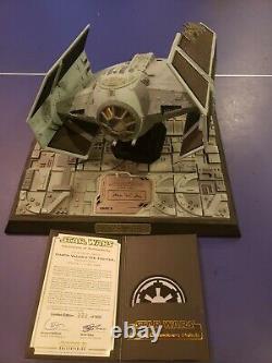 Star Wars Code 3 Darth Vaders Tie Fighter 322/500. Signed by James Earl Jones