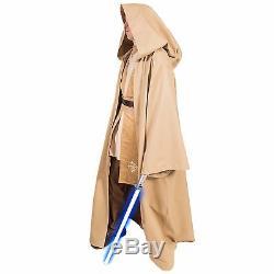 Star Wars Custom Costume Cotton Obi-Wan Jedi Knight Robe Sith Lord halloween men