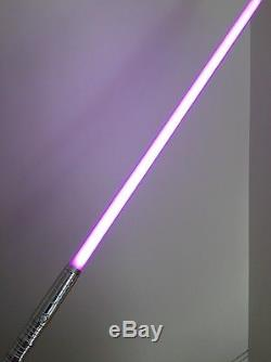 Star Wars Custom lightsaber with SOUND + choice of color! Metal FX Ultra SF