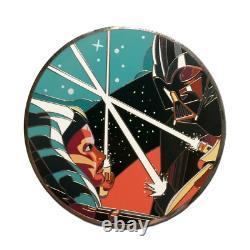 Star Wars Danny Haas The Apprentice Ahsoka Enamel PIN Based on Poster Print COA