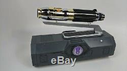 Star Wars Disney Galaxy's Edge Mace Windu Legacy Lightsaber with Removeable Blade