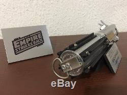 Star Wars ESB TLJ Luke Skywalker lightsaber replica 11 Graflex 3 cell prop