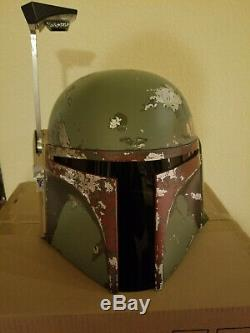 Star Wars Efx master replica Boba Fett 11 Helmet movie prop replica