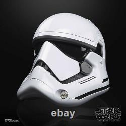 Star Wars First Order Stormtrooper Black Series Electronic Helmet IN STOCK