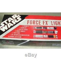 Star Wars Force Fx Lightsaber Prop Replica Construction Set Rare Out Of Print