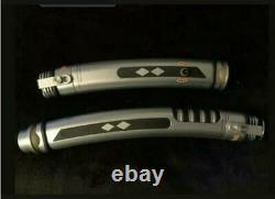 Star Wars Galaxy's Edge Ashoka Tano Rebels/mando Hilts With 36 And 26 Blade