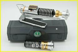 Star Wars Galaxy's Edge Luke Skywalker Legacy Lightsaber Disney Parks + Emitter