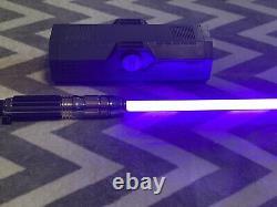 Star Wars Galaxy's Edge MACE WINDU Legacy Lightsaber Hilt & Blade