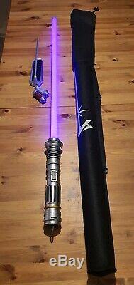 Star Wars Galaxys Edge Savi's Workshop Custom Lightsaber Peace & Justice
