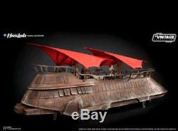 Star Wars HASLAB Vintage Collection Jabba's Sail Barge withYakface PRE-ORDER +Book