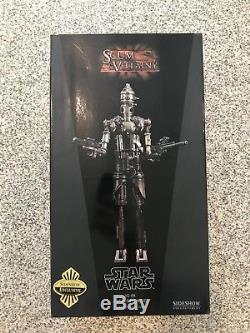 Star Wars IG-88 Sixth Scale Figure By Sideshow Collectibles Exclusive