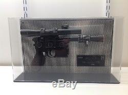 Star Wars Icons Han Solo Blaster AP 22 Very Rare Prop Replica NO eFX MR Master