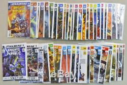 Star Wars Knights of the Old Republic KOTOR Comic Book Set #1-50 Complete Run +0