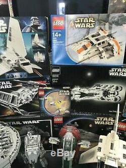 Star Wars LEGO Collection 14 Ultimate Sets 10019 10221 10143 10030 10179 10212